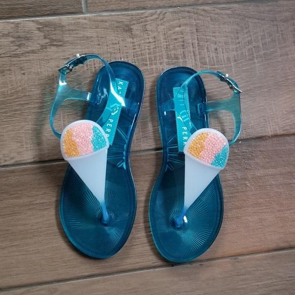 eaba3f9935cbc Katy Perry Kiki snowcone Kelly sandals 8 M